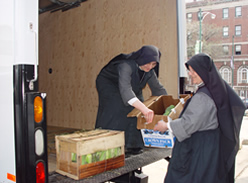 Fraternite Notre Dame Soup Kitchen Food Pantry