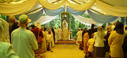 Holy Mass in the Holy Forest